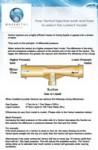 Venturi Injector - dosing chemicals, aerating water, dosing ozone and fertigation - Venturi